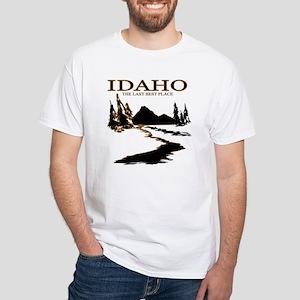 Idaho White T-Shirt