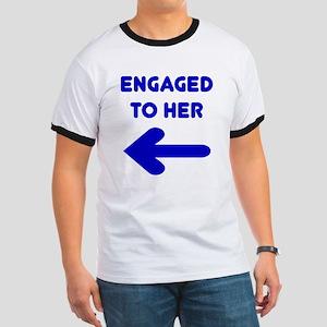 Engaged Arrow Ringer T