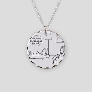 Alien: Bake Sale Necklace Circle Charm