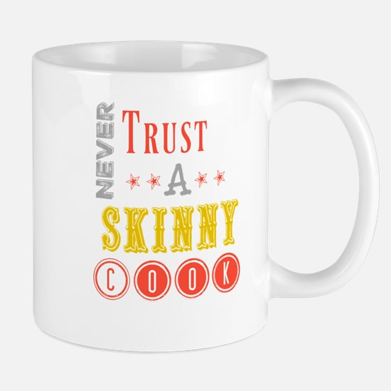 skinny cook Mugs
