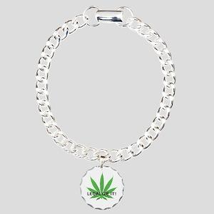Legalize It! (leaf) Charm Bracelet, One Charm
