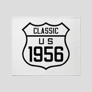 Classic US 1956 Throw Blanket