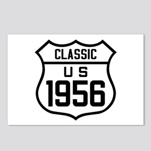 Classic US 1956 Postcards (Package of 8)