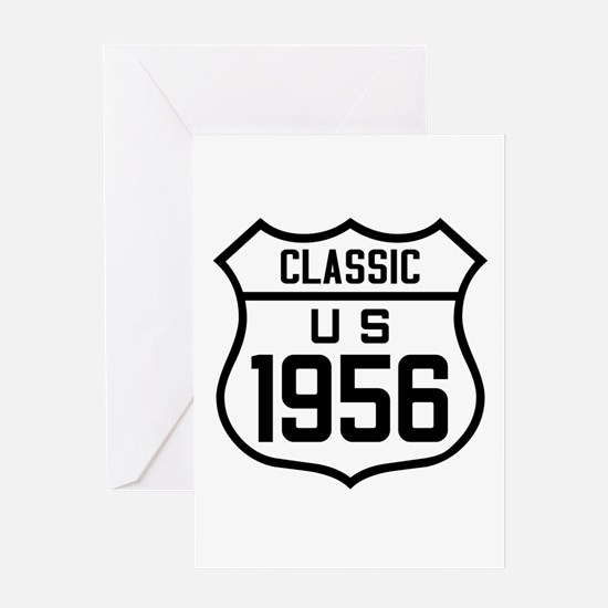 Classic US 1956 Greeting Cards