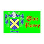 Clan Furey 38.5 x 24.5 Wall Peel