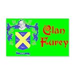 Clan Furey 22x14 Wall Peel