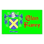 Clan Furey Sticker (Rectangle)