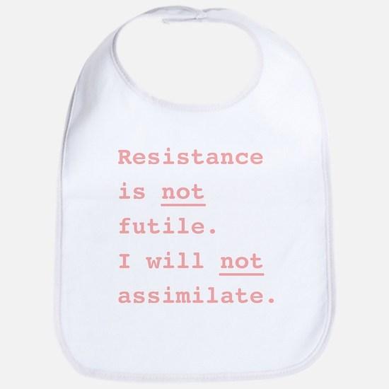 Resistance is not futile | Bib