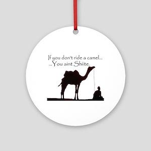 Shiite Camel - BLK - Ornament (Round)