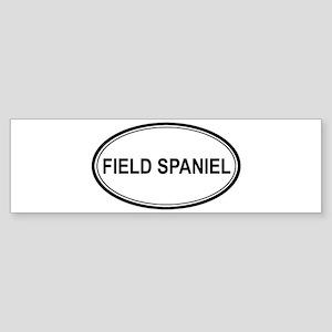 Field Spaniel Euro Bumper Sticker