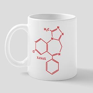 Xanax Molecule Mug