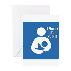 Nursing in Public Greeting Cards (Pk of 10)