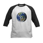 Peace On Earth Kids Baseball Jersey