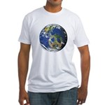 Peace On Earth Fitted T-Shirt