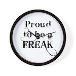 Proud to be a Freak Wall Clock