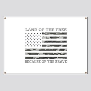 Land Of the Free Because of The Brave Urban Camouf
