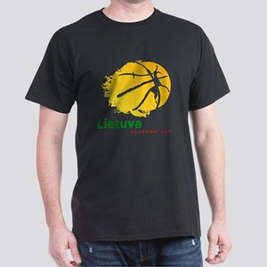 Eurobasket 2011 Lithuania Dark T-Shirt