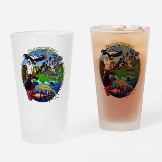 Cryptozoology Drinking Glass