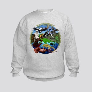 Cryptozoology Kids Sweatshirt
