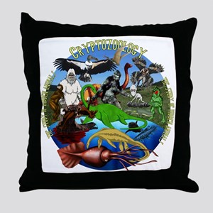 Cryptozoology Throw Pillow
