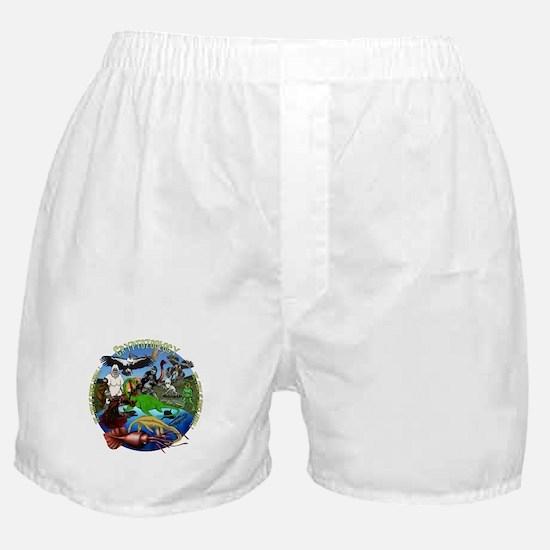 Cryptozoology Boxer Shorts