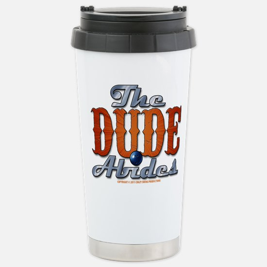 The Dude Abides Stainless Steel Travel Mug
