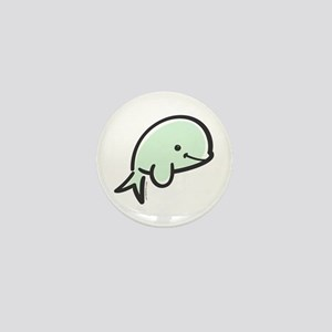 Cute Baby Beluga Mini Button
