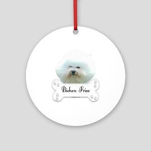 Bichon 1 Ornament (Round)