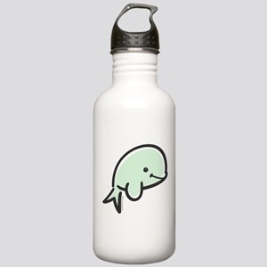 Cute Baby Beluga Stainless Water Bottle 1.0L