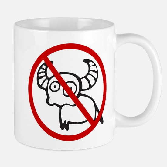 Funny NO Buffalo Thai Sign Mug
