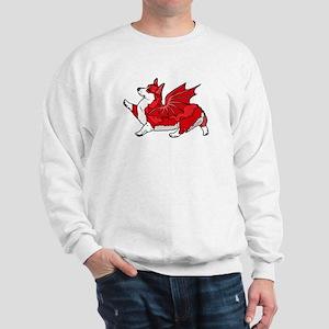The Red Corgon - plain Sweatshirt