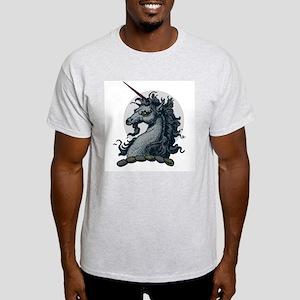 Angry Unicorn Ash Grey T-Shirt