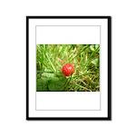 Sweet Berry Framed Panel Print