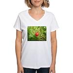 Sweet Berry Women's V-Neck T-Shirt