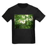 White Flower Kids Dark T-Shirt