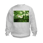White Flower Kids Sweatshirt