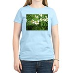 White Flower Women's Light T-Shirt