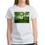 White Flower Women's T-Shirt