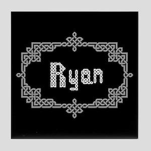 """Celtic Knots Ryan"" Tile Coaster"