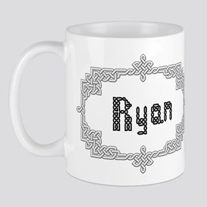 """Celtic Knots Ryan"" Mug"