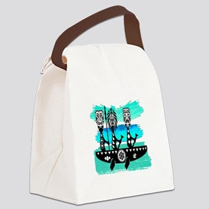 THE JOURNEYS ON Canvas Lunch Bag