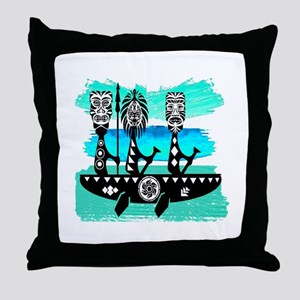 THE JOURNEYS ON Throw Pillow