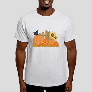 Autumn Pumpkins Light T-Shirt