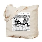 Captain Ahab Chases A Protester Tote Bag