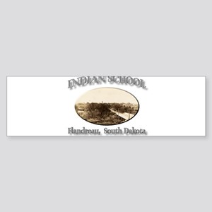 Flandreau Indian School Sticker (Bumper)