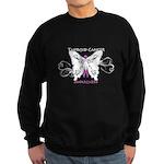 Thyroid Cancer Awareness Sweatshirt (dark)