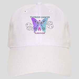 Thyroid Cancer Survivor Butterfly Cap