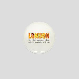 London Riots 2011 Mini Button