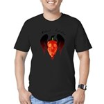 Ghost Pepper Men's Fitted T-Shirt (dark)