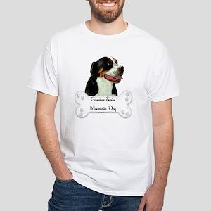 Swissy 1 White T-Shirt